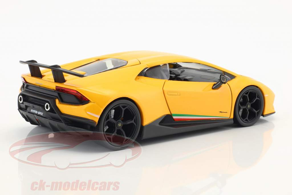 Lamborghini Huracan Performance year 2017 yellow 1:24 Jada Toys