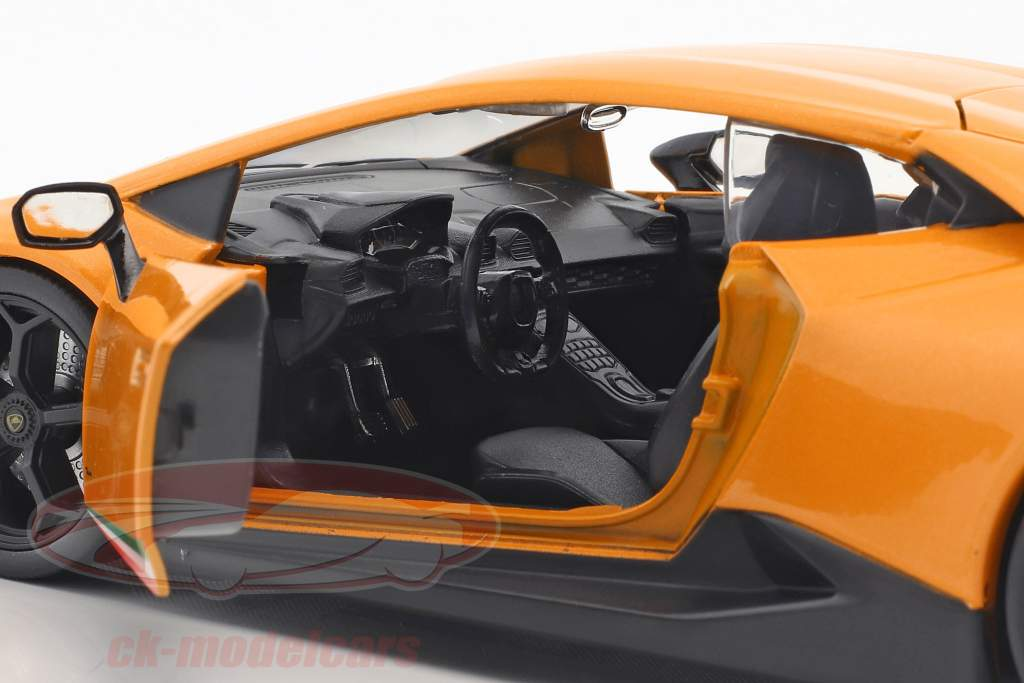 Lamborghini Huracan Performance année de construction 2017 orange 1:24 Jada Toys