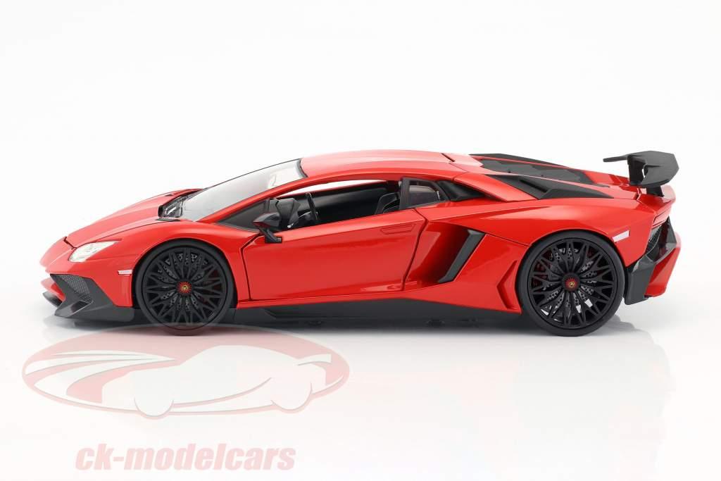Lamborghini Aventador SV Baujahr 2017 rot 1:24 Jada Toys
