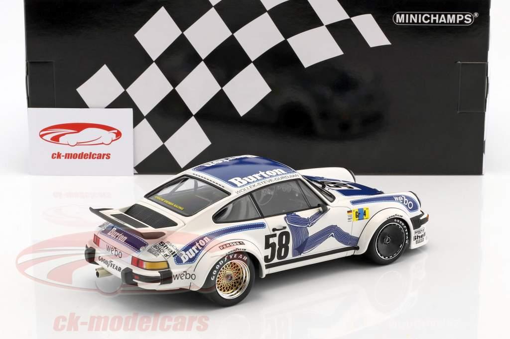 Porsche 934 Kremer Racing #58 Winner Gr.4 24h LeMans 1977 Wollek, Gurdjan, Steve 1:18 Minichamps
