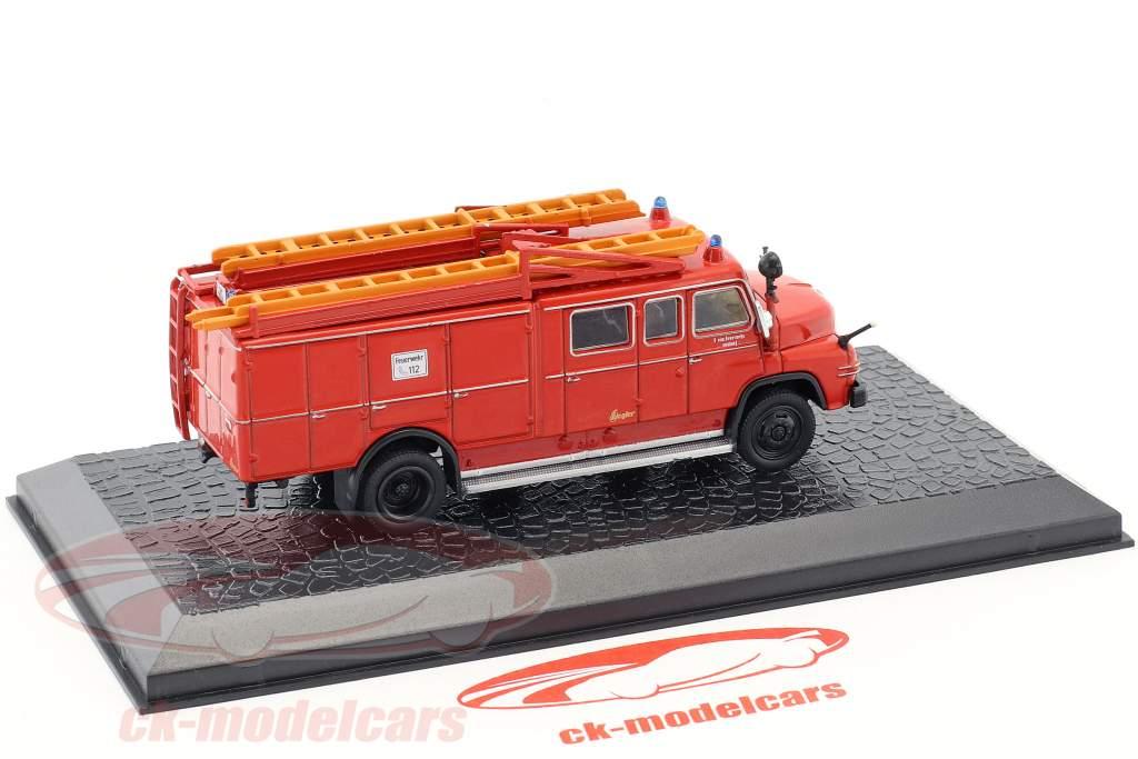 MAN 450 HA-LF LF16 pompiers rouge 1:72 Altaya