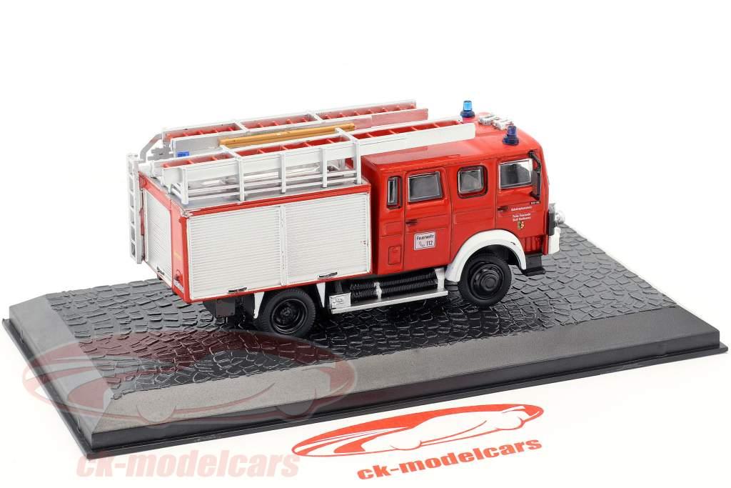 Iveco Magirus 90-16 LF 16-TS fire Department Kaufbeuren red 1:72 Altaya