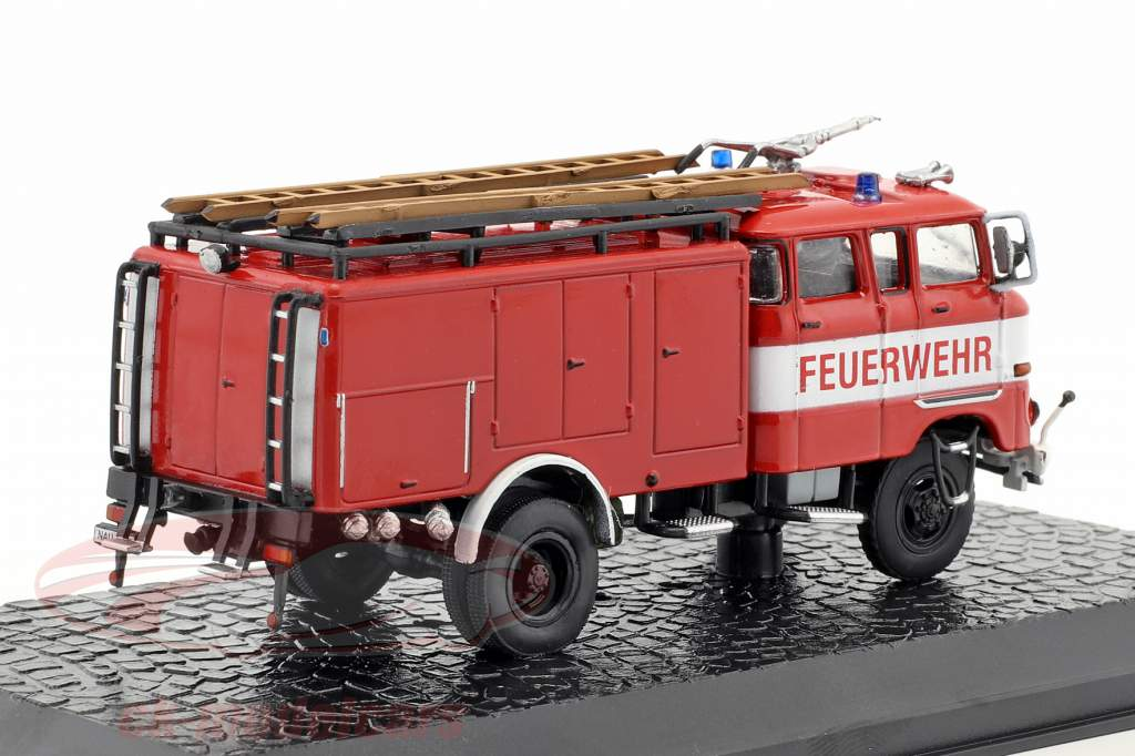 IFA W 50 TLF 16 fire Department red 1:72 Altaya