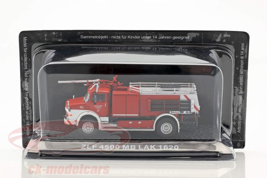 Mercedes-Benz LAK 1620 ZLF 4500 vigili del fuoco Brunsbüttel rosso / bianco 1:72 Altaya