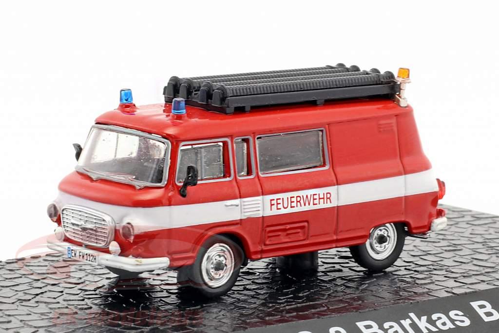 Barkas B 1000 KLF-TS 8 fire Department red 1:72 Altaya