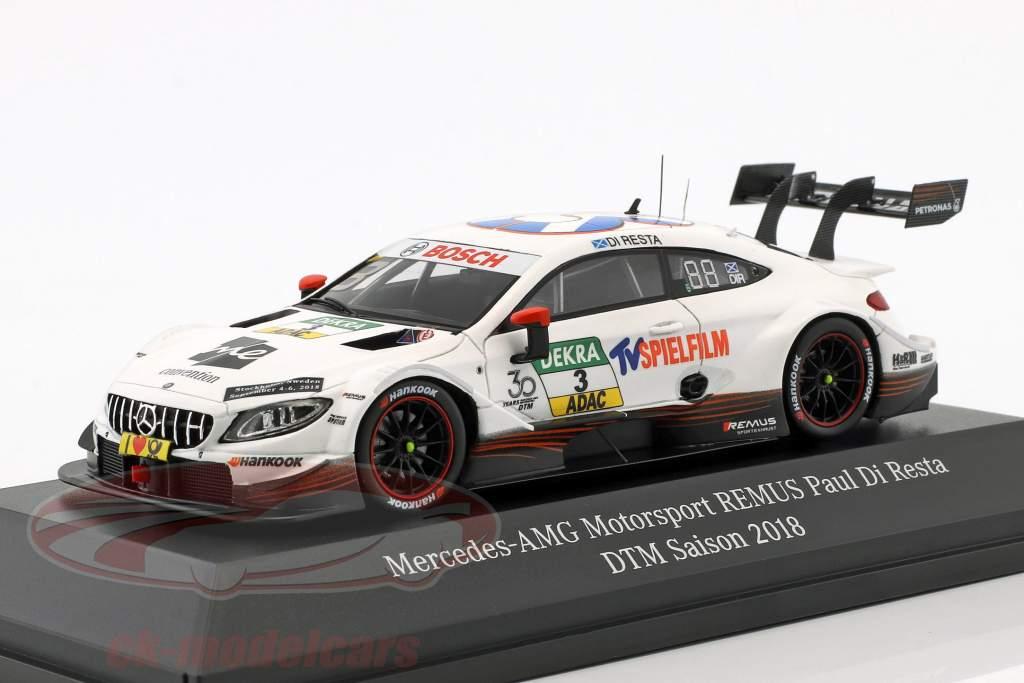 Final DTM Saison 2018 1:43 Modell Daniel Juncadella Mercedes-AMG Motorsport