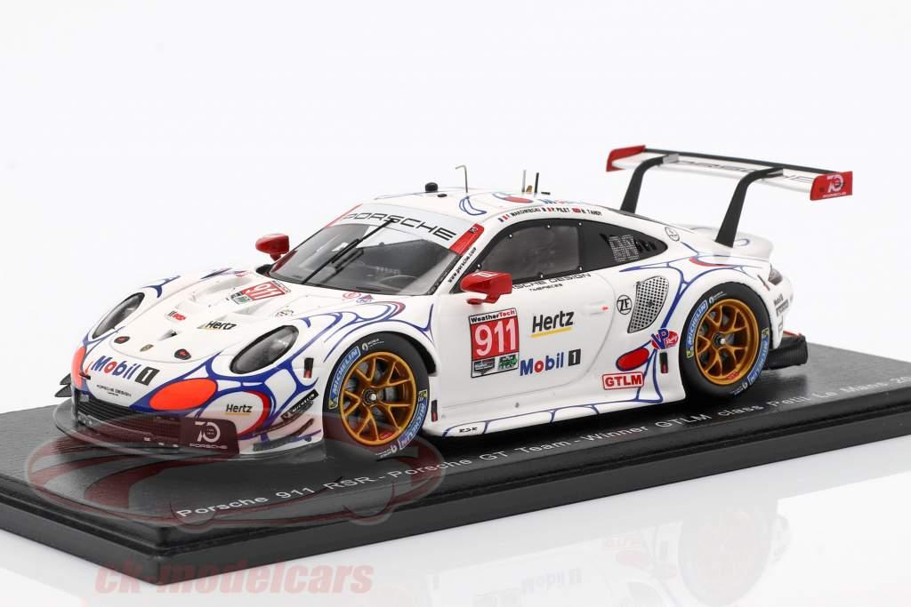 Porsche 911 RSR Le Mans Road Atlanta 2018 GTLM Pilet//Tandy//Makowiecki Spark 1:43