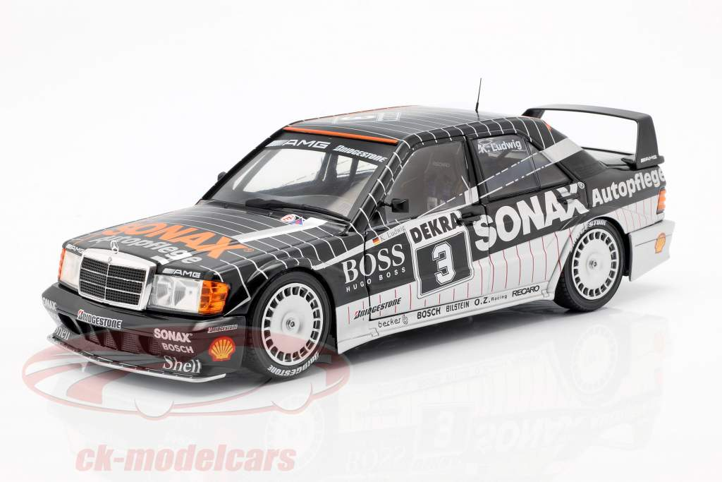 K Ludwig Mercedes-Benz 190E 2.5-16 Evolution II #3 DTM Meister 1992 1:18 Solido