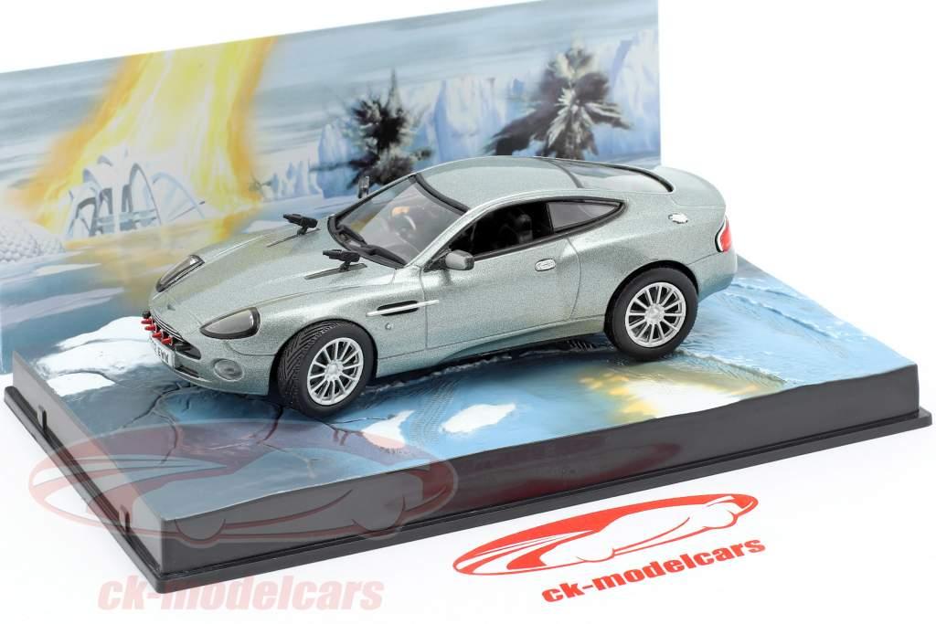 Aston Martin V12 Vanquish James Bond Movie Stirb An Einem Anderen Tag 1 43 Ixo Ebay