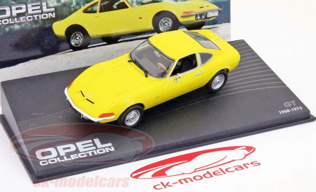 OPEL GT Coupe Giallo Yellow 1968-1973 Ixo Altaya prezzo speciale 1:43