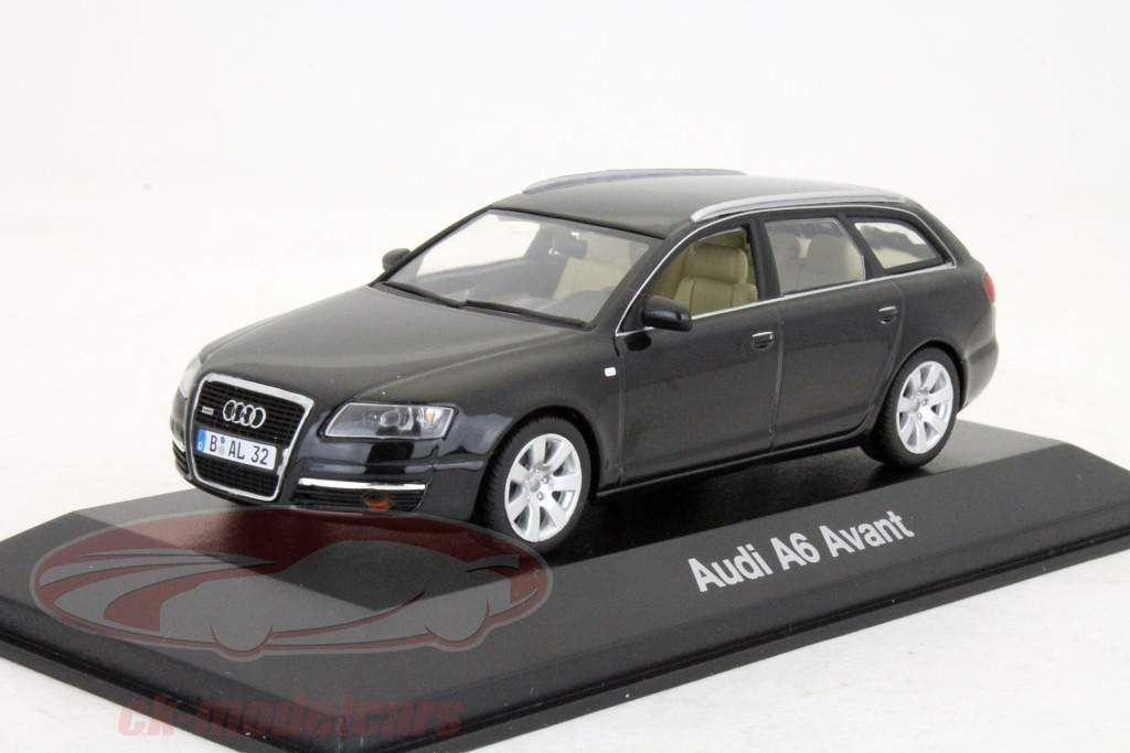 ck modelcars 5010406233 audi a6 avant 2004 noir 1 43 minichamps ean 2050000036385. Black Bedroom Furniture Sets. Home Design Ideas