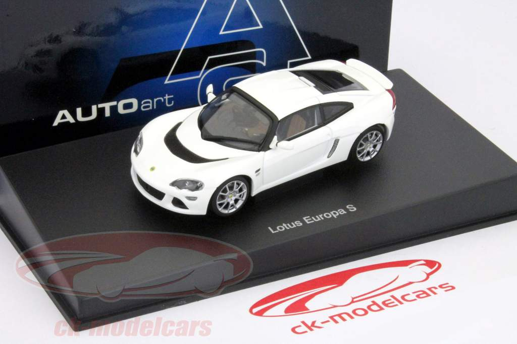 Ck Modelcars 55358 Lotus Europa S Year 2006 White 143 Autoart
