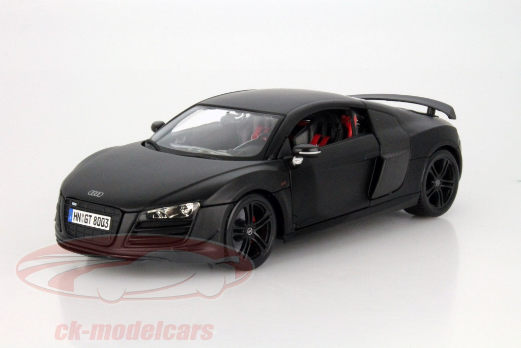 ck modelcars 36190 audi r8 gt tapis noir 1 18 maisto ean 090159361909. Black Bedroom Furniture Sets. Home Design Ideas