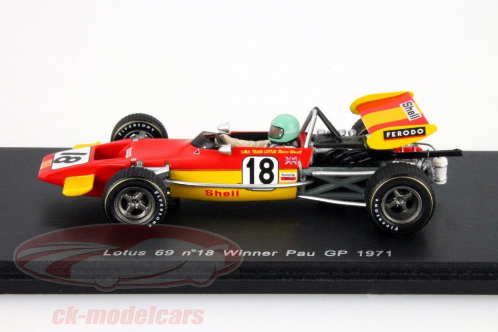 CK-Modelcars - S2147: Reine Wisell Lotus 69 #18 Winner Pau GP ...