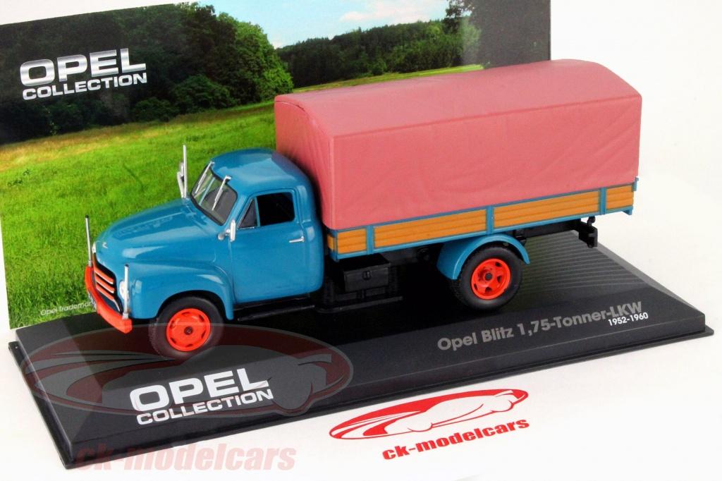OPE152R Geschenk 1//43 Ixo Opel Sammlung Lastwagen Lkw Blitz Pick-Up Dreitonner