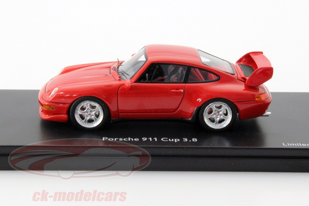 CKModelcars  450888700 Porsche 911 993 Cup 38 guards red 1
