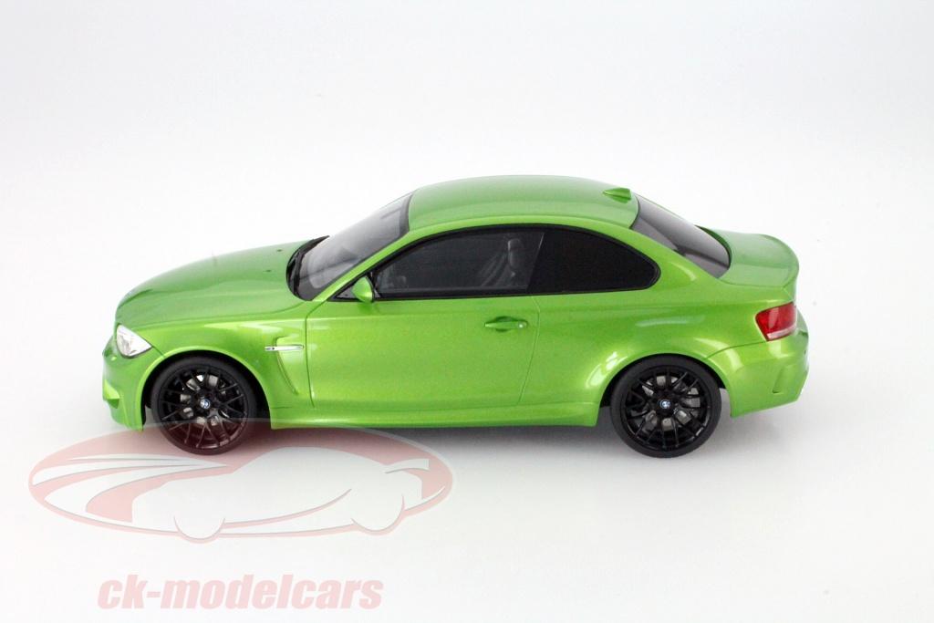 Ck Modelcars Zm036 Bmw M1 Coupe E82 Mamba Vert 1 18