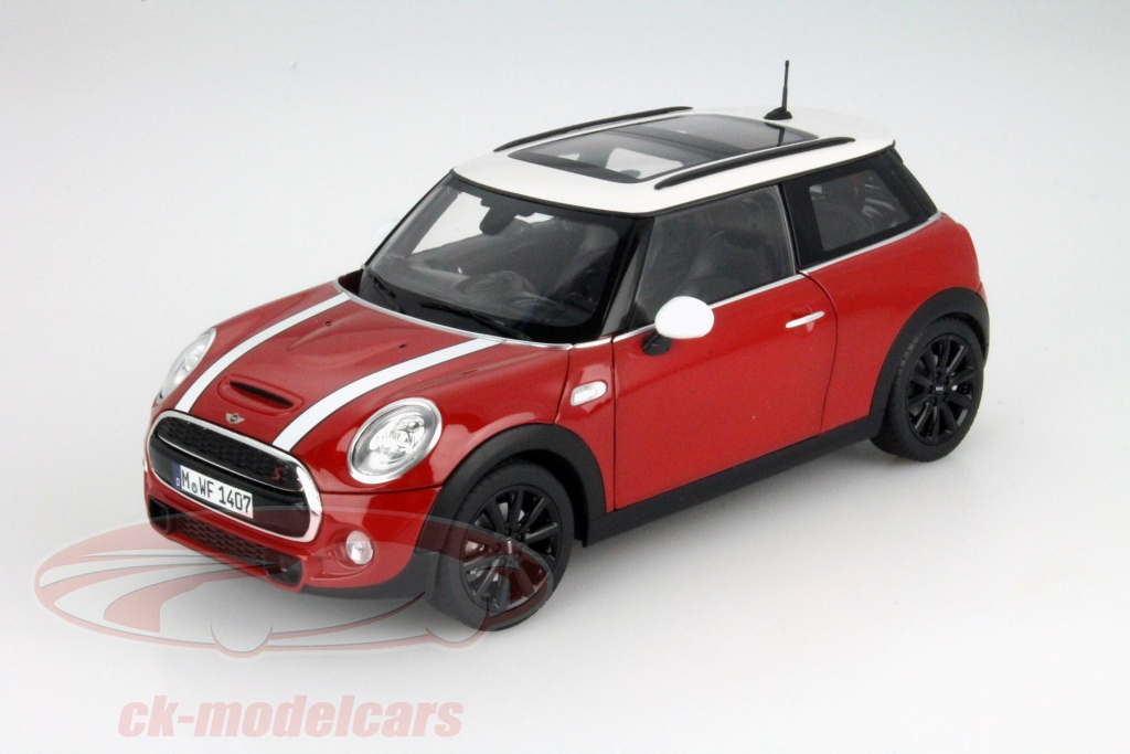 ck modelcars 80432413799 mini cooper s f56 rot 1 18 norev ean 80432413799. Black Bedroom Furniture Sets. Home Design Ideas