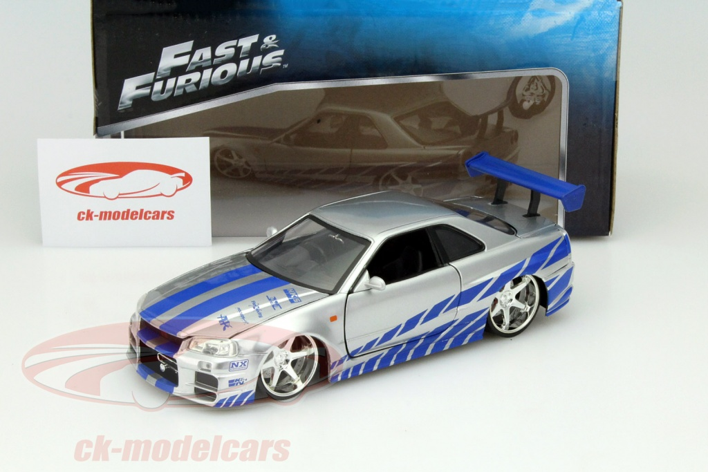CK-Modelcars - 97158: Nissan Skyline GT-R (R34) out the Movie 2 Fast ...