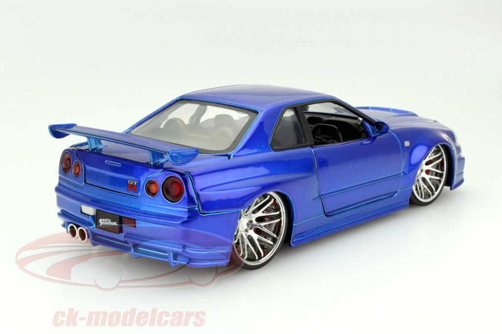 CK-Modelcars - 97173: Brian´s Nissan Skyline GT-R (R34) Fast and ...
