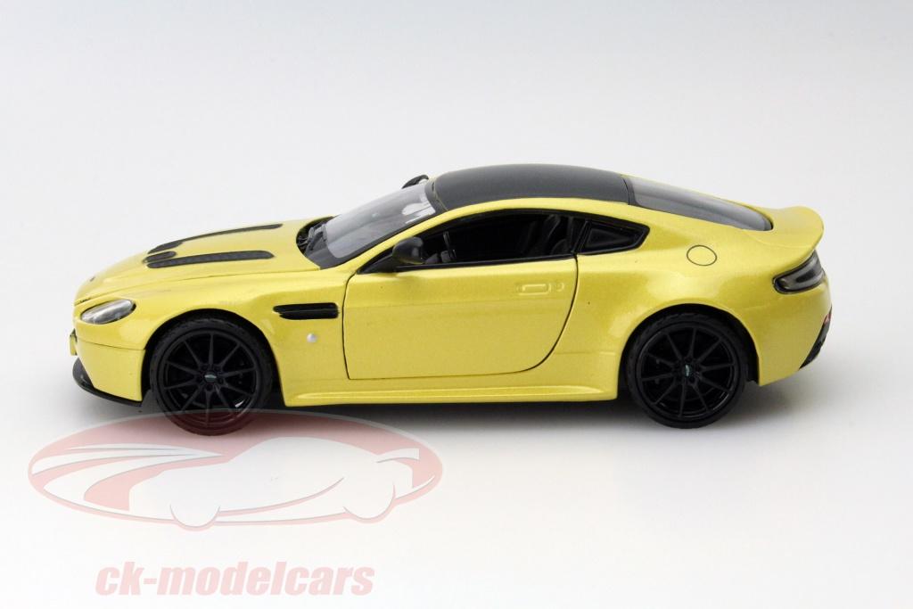 Ck Modelcars 79322 Aston Martin V12 Vantage S Yellow 1 24