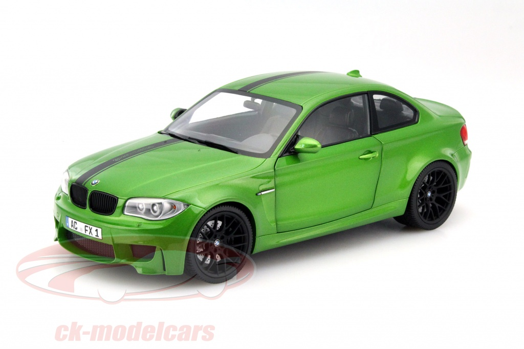 ck modelcars 110020024 bmw 1er m coupe year 2011 green 1 18 minichamps ean 4012138124967. Black Bedroom Furniture Sets. Home Design Ideas