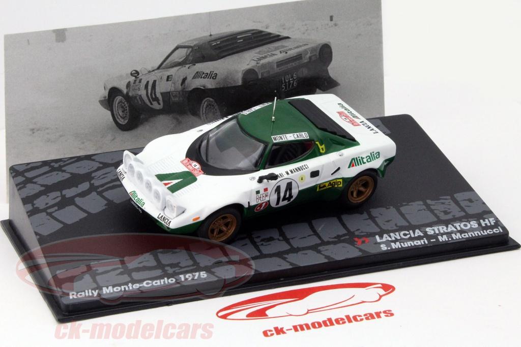ck-modelcars - mag kd104: lancia stratos hf #14 rallye monte carlo