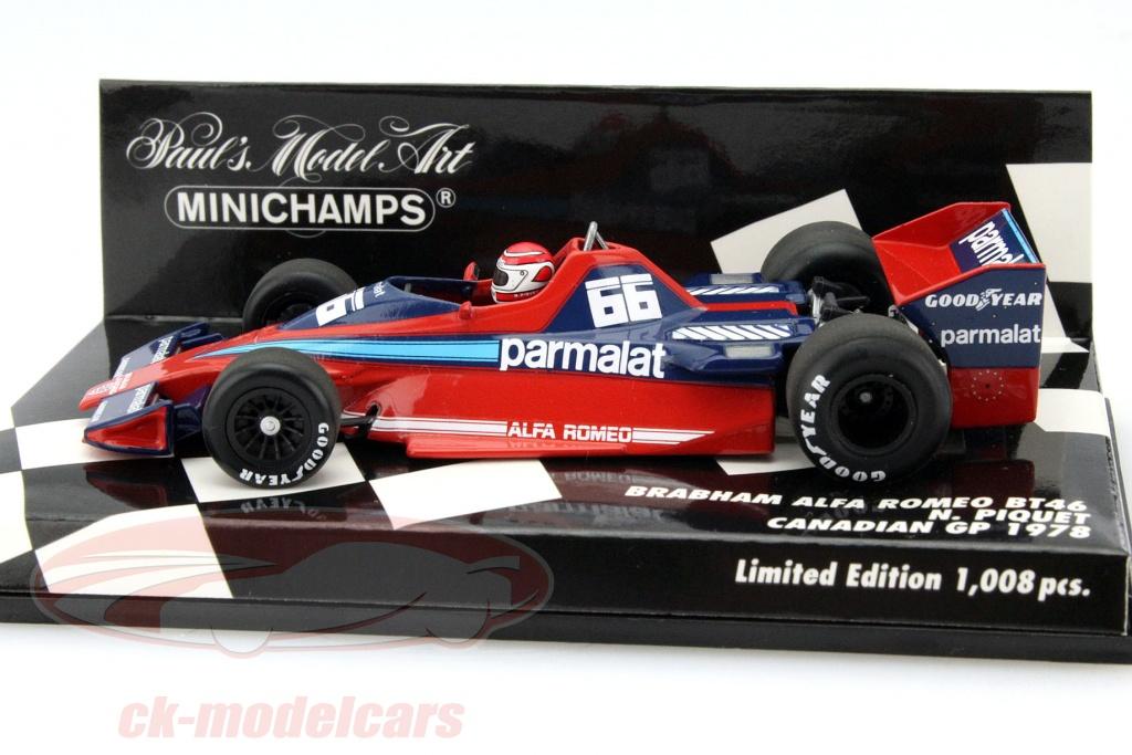 CK-Modelcars - 400780066: Nelson Piquet Brabham BT46 #66 Canada GP ...