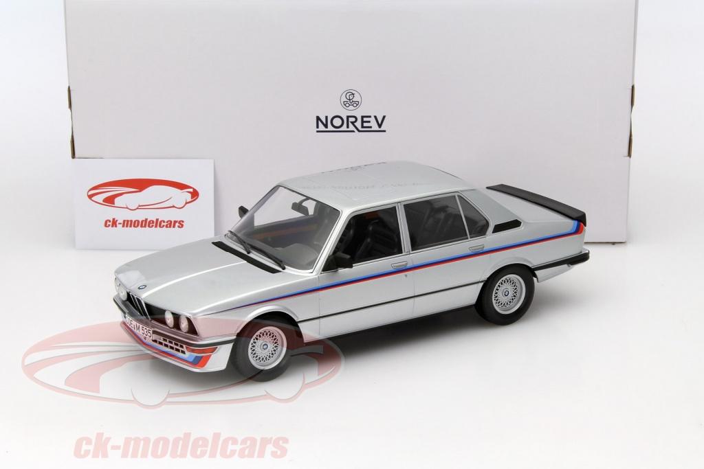 CK-Modelcars - 183266: BMW M535i E12 Year 1980 silver metallic 1:18 ...