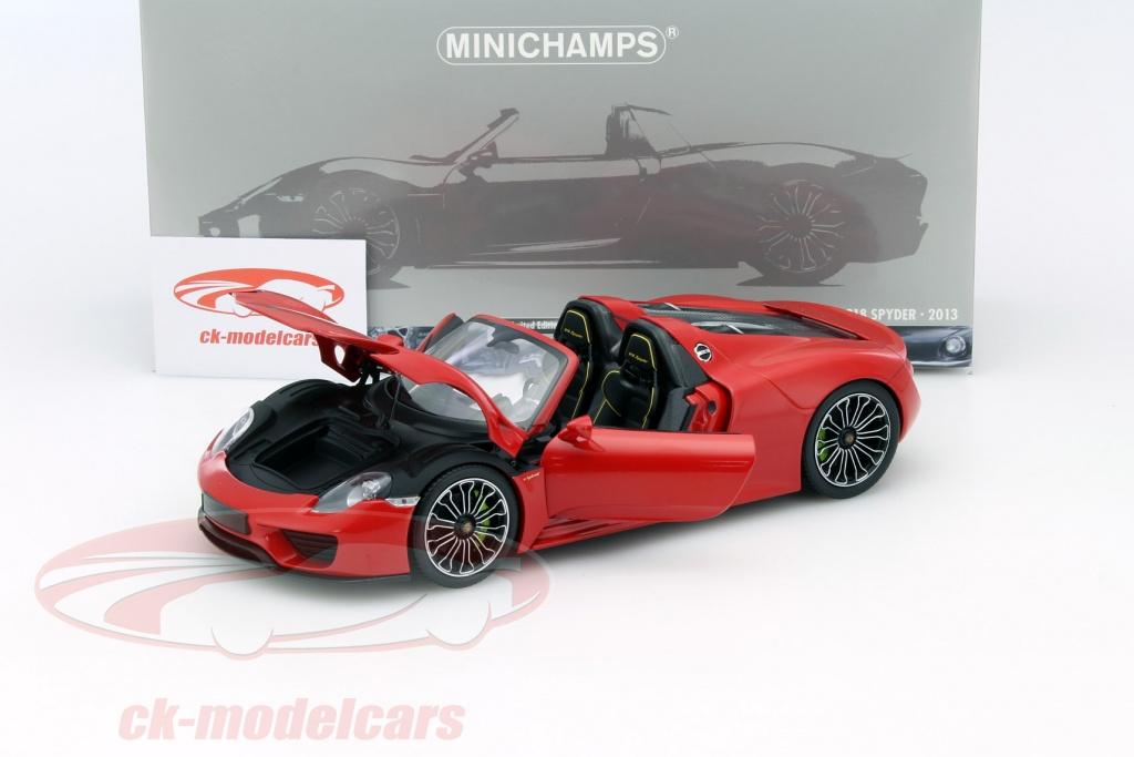 ck modelcars 110062435 porsche 918 spyder baujahr 2013. Black Bedroom Furniture Sets. Home Design Ideas