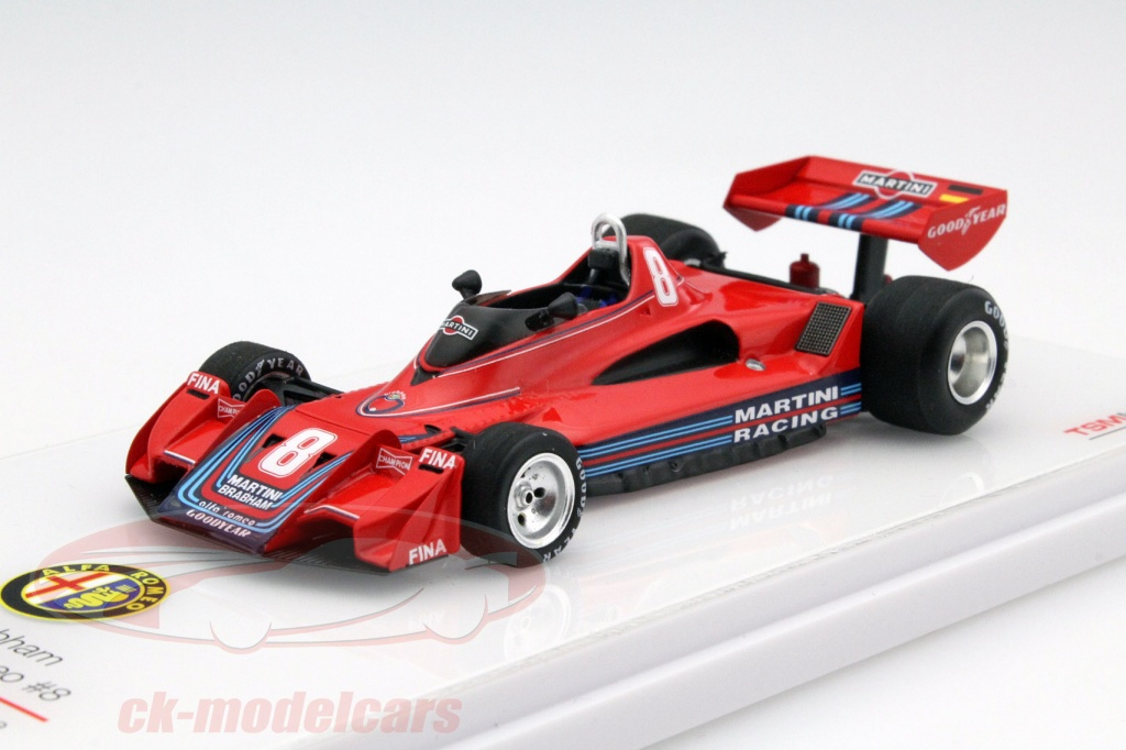 ck modelcars tsm154303 hans joachim stuck brabham bt45b 8 allemagne gp formule 1 1977 1 43. Black Bedroom Furniture Sets. Home Design Ideas