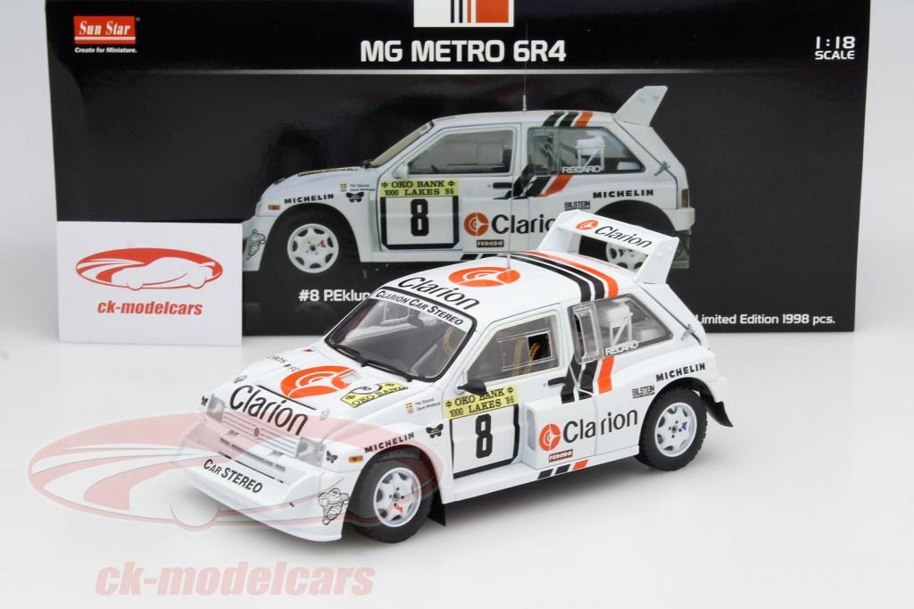 CK-Modelcars - 5536: MG Metro 6R4 #8 1000 Lakes Rally 1986 Eklund ...