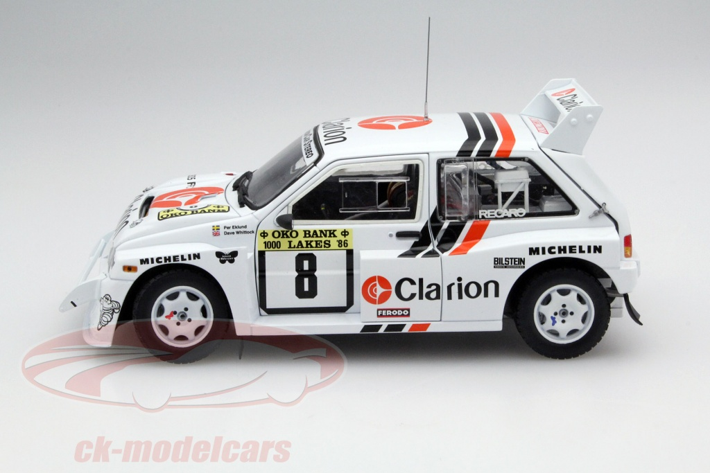 ck modelcars 5536 mg metro 6r4 8 1000 lakes rallye 1986 eklund whittock 1 18 sunstar ean. Black Bedroom Furniture Sets. Home Design Ideas