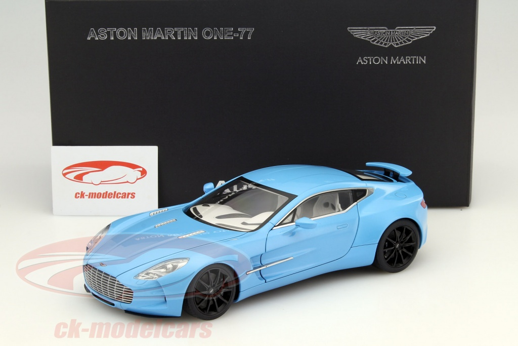 Aston Martin One 77 Year 2009 Tiffany Blue 1:18 AUTOart