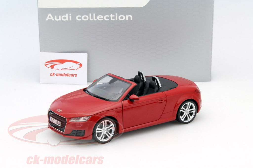 ck modelcars 5011400525 audi tt roadster tango rouge 1 18 minichamps ean 2160000023794. Black Bedroom Furniture Sets. Home Design Ideas