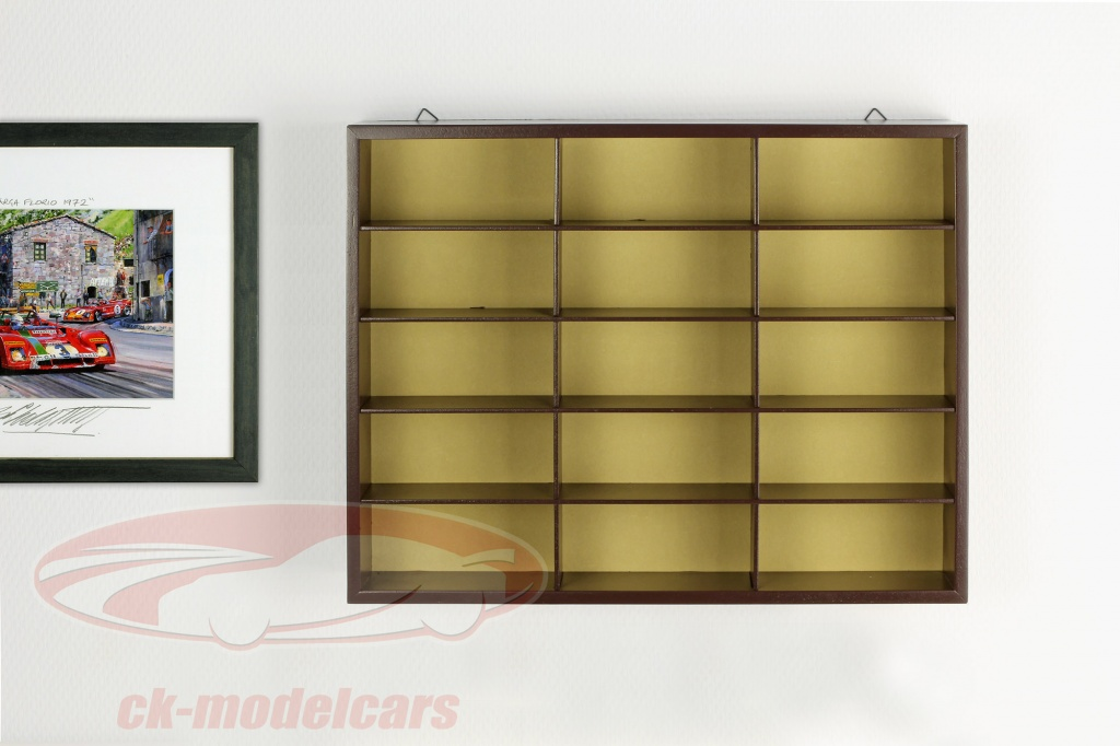 Ck Modelcars 7168993 Wooden High Quality Showcase
