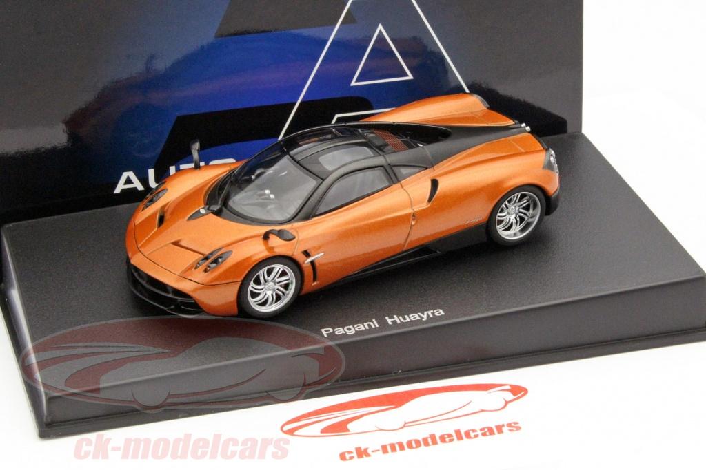 autoart 1:43 pagani huayra baujahr 2011 bronze metallic 58207