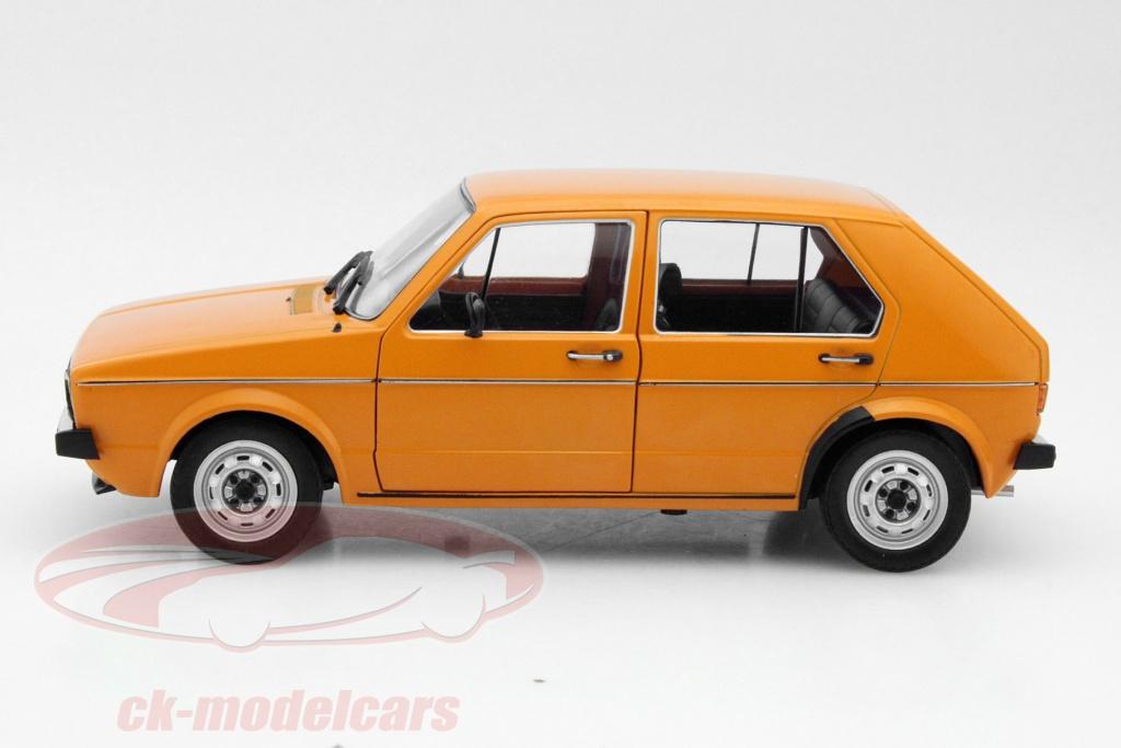 ck modelcars 421183970 volkswagen vw golf 1 baujahr 1974 orange 1 18 solido ean 3663506001222. Black Bedroom Furniture Sets. Home Design Ideas