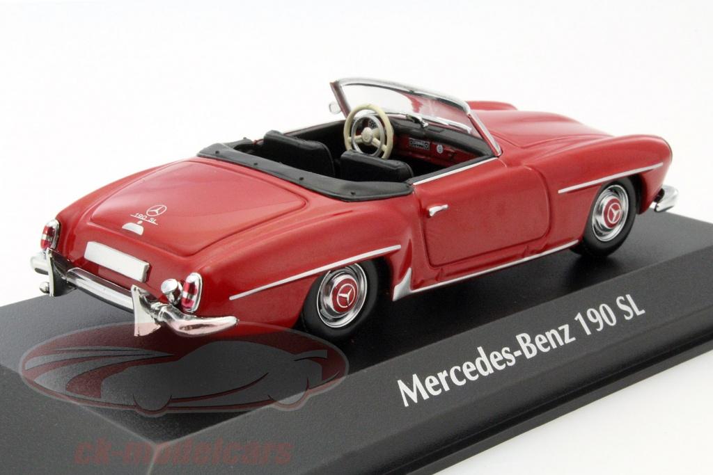 ck modelcars 940033131 mercedes benz 190 sl year 1955. Black Bedroom Furniture Sets. Home Design Ideas