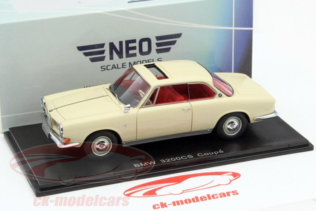 CK-Modelcars - NEO44287: BMW 3200 CS Coupe beige 1:43 Neo, EAN ...