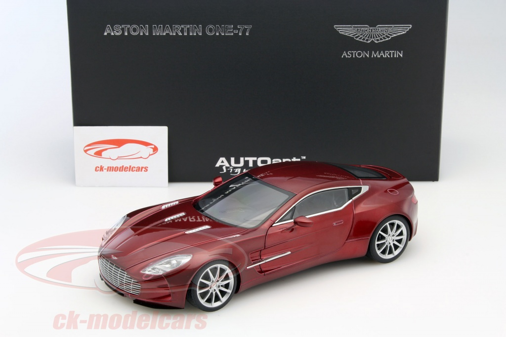 Aston Martin One 77 Year 2009 Diavolo Red 1:18 AUTOart