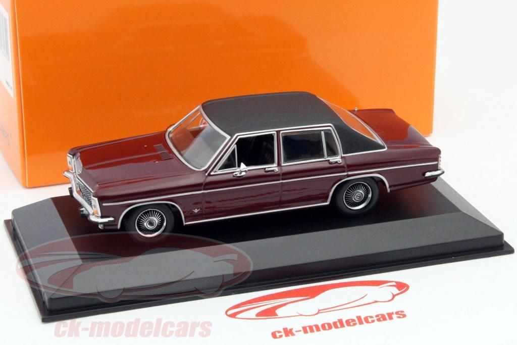 ck modelcars 940046071 opel diplomat year 1969 dark red 1 43 minichamps ean 4012138135390. Black Bedroom Furniture Sets. Home Design Ideas