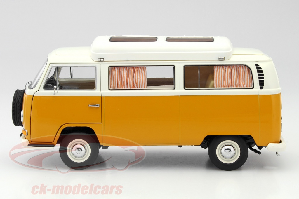 ck modelcars 450018700 volkswagen vw t2a campingbus baujahr 1967 1970 orange 1 18 schuco ean. Black Bedroom Furniture Sets. Home Design Ideas