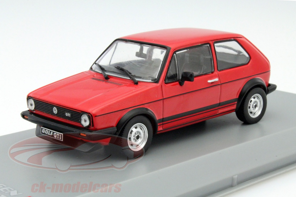 ck modelcars wb239 volkswagen vw golf i gti baujahr 1976 rot 1 43 whitebox ean 216952. Black Bedroom Furniture Sets. Home Design Ideas