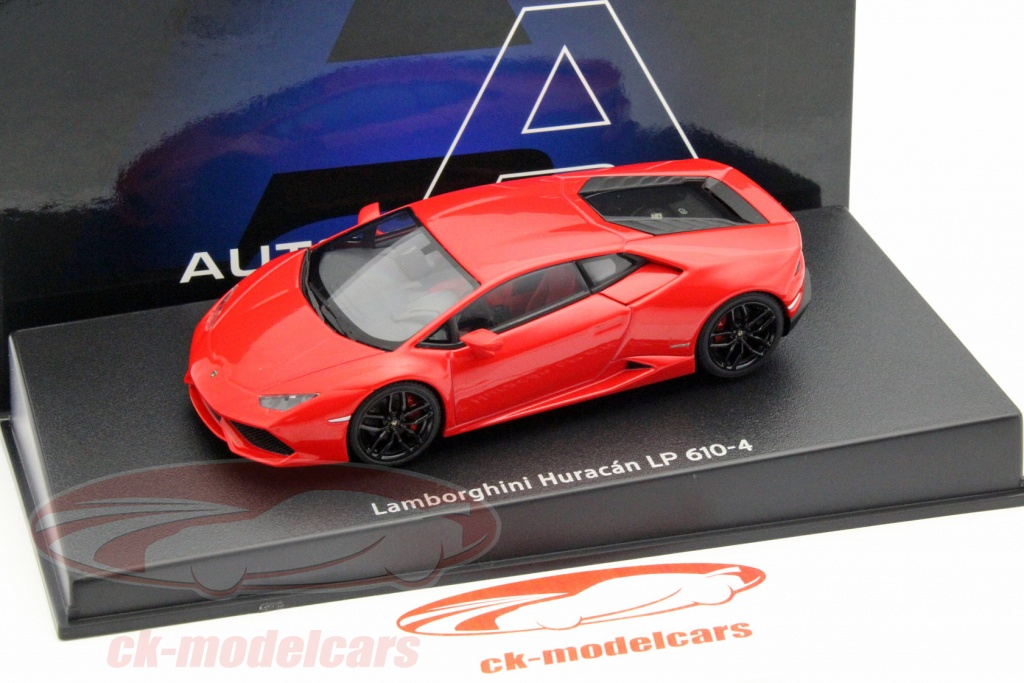 Autoart 1 43 Lamborghini Huracan Lp610 4 Year 2014 Red 54604 Model