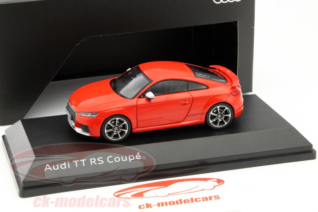 ck modelcars 5011610431 audi tt rs coupe catalunya rouge 1 43 iscale ean 2160000042504. Black Bedroom Furniture Sets. Home Design Ideas