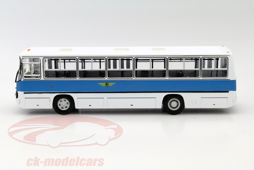 ck modelcars 47019 ikarus 260 dresdner verkehrsbetriebe wei blau 1 43 premiumclassixxs. Black Bedroom Furniture Sets. Home Design Ideas