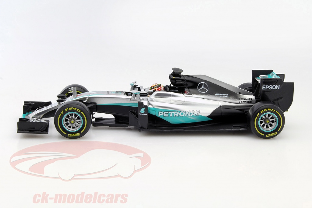 ck modelcars 15618001h lewis hamilton mercedes f1 w07 hybrid 44 formule 1 2016 1 18 bburago. Black Bedroom Furniture Sets. Home Design Ideas