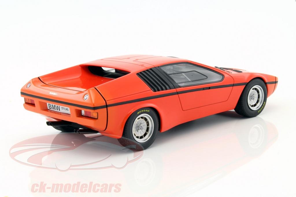 CK-Modelcars - 450008900: BMW Turbo M1 (E25) year 1972 orange 1:18 ...
