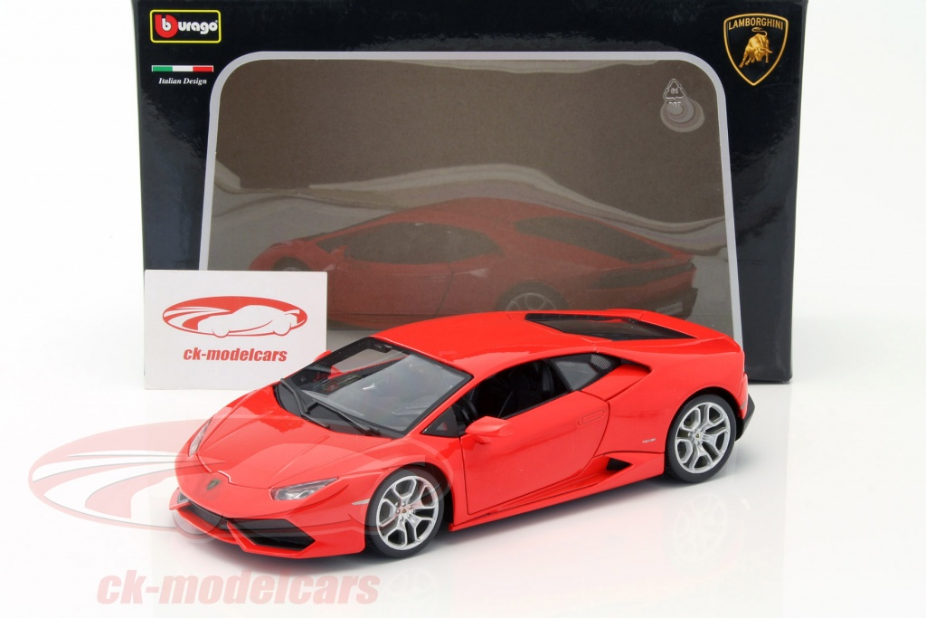 Bburago 1 18 Lamborghini Huracan Lp610 4 Red 18 11038r Model Car